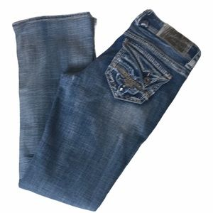 Hydraulic Original Fit Distressed Jeans